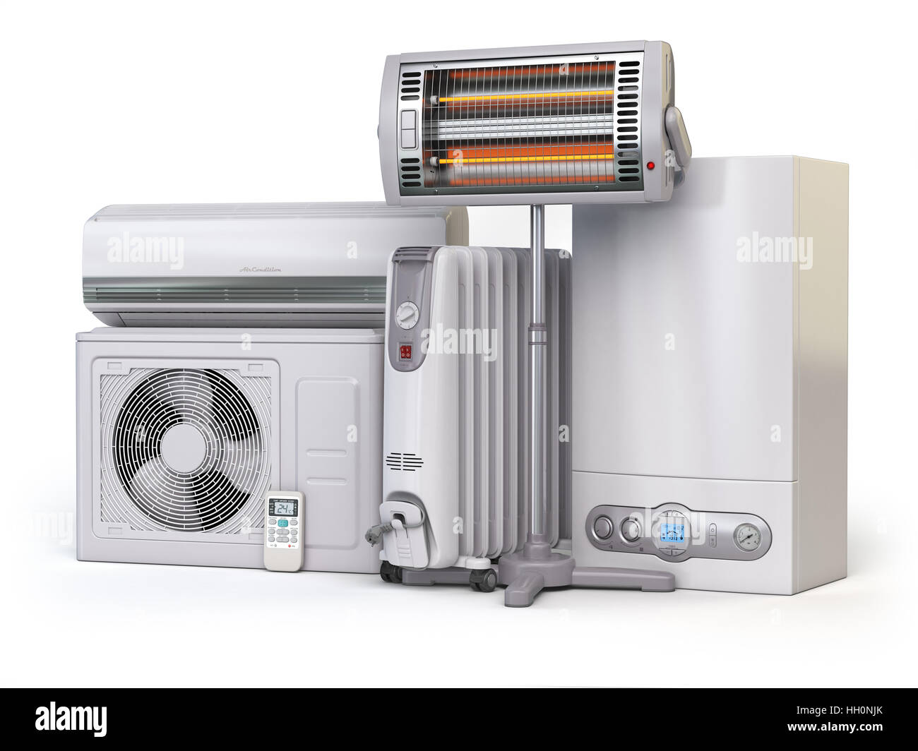 water heaters stock photos water heaters stock images alamy heating devices and climate equipment heating household appliances gas boiler air conditioner