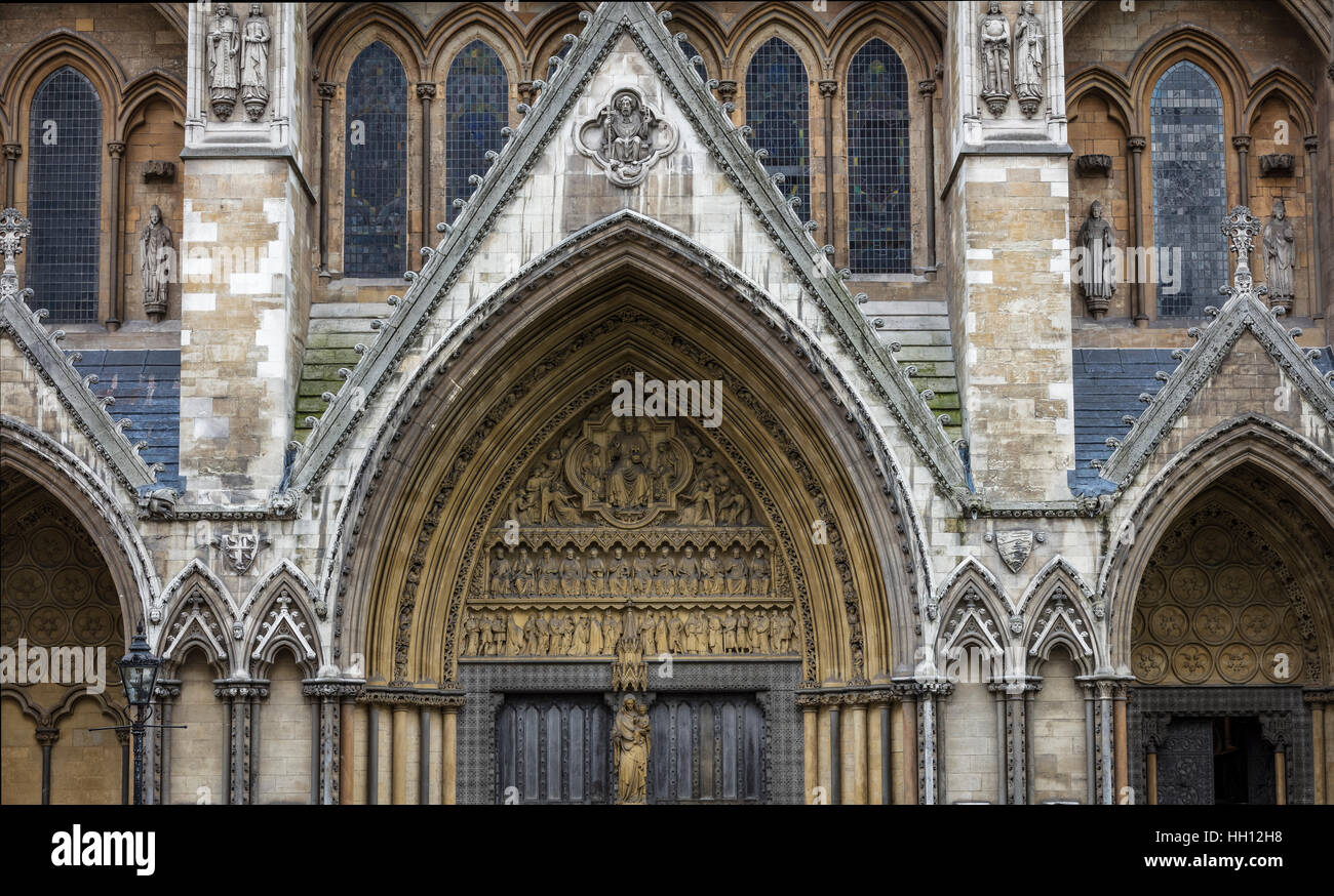 Front door of Westminster Abbey in London with arch & Front door of Westminster Abbey in London with arch Stock Photo ... Pezcame.Com