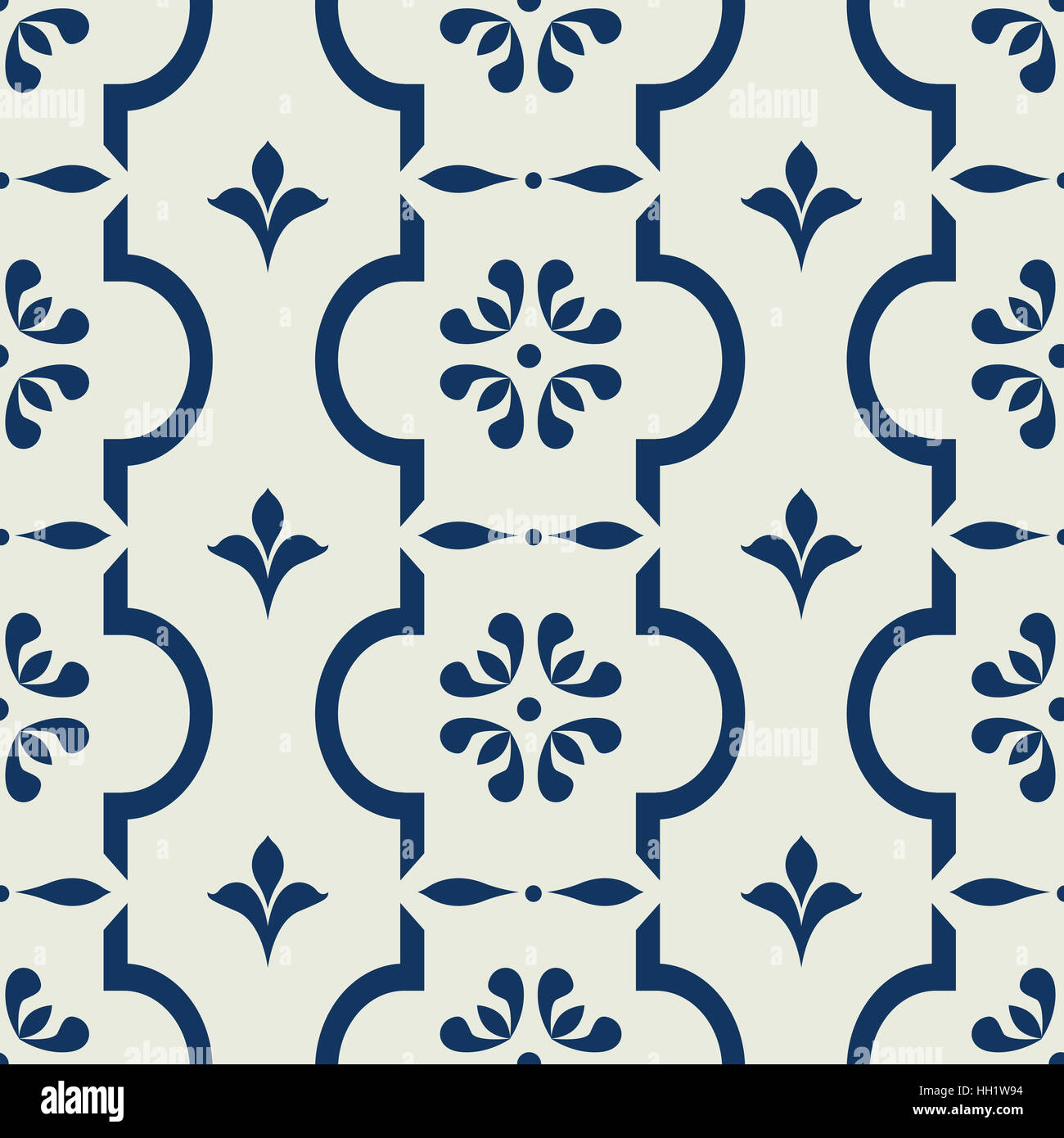 Tileable Wallpaper Texture Seamless Repeating Vintage Background For Textile Design Fabric