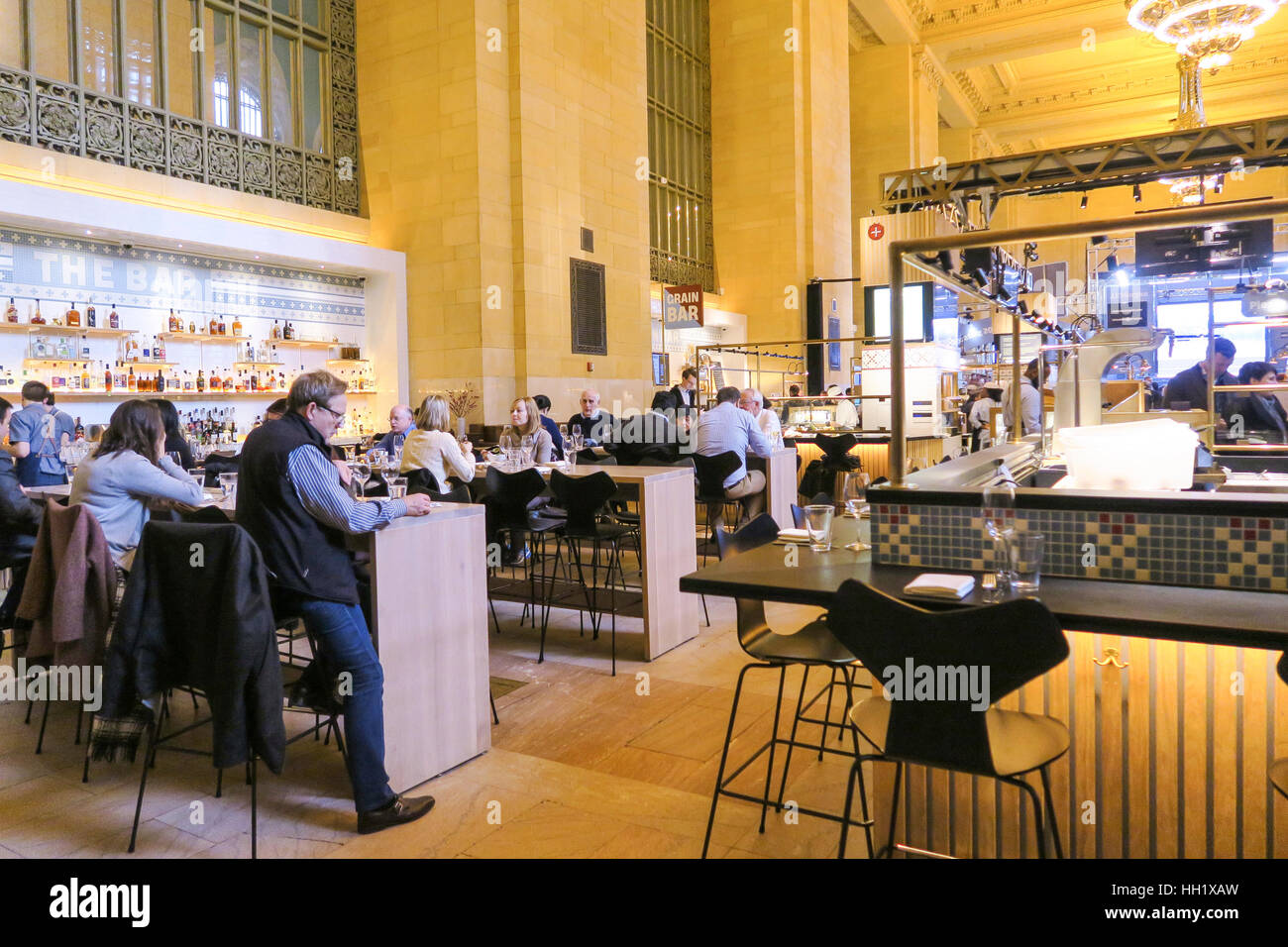 Great Northern Food Hall Great Northern Food Hall Grand Central Terminal Nyc Usa Stock