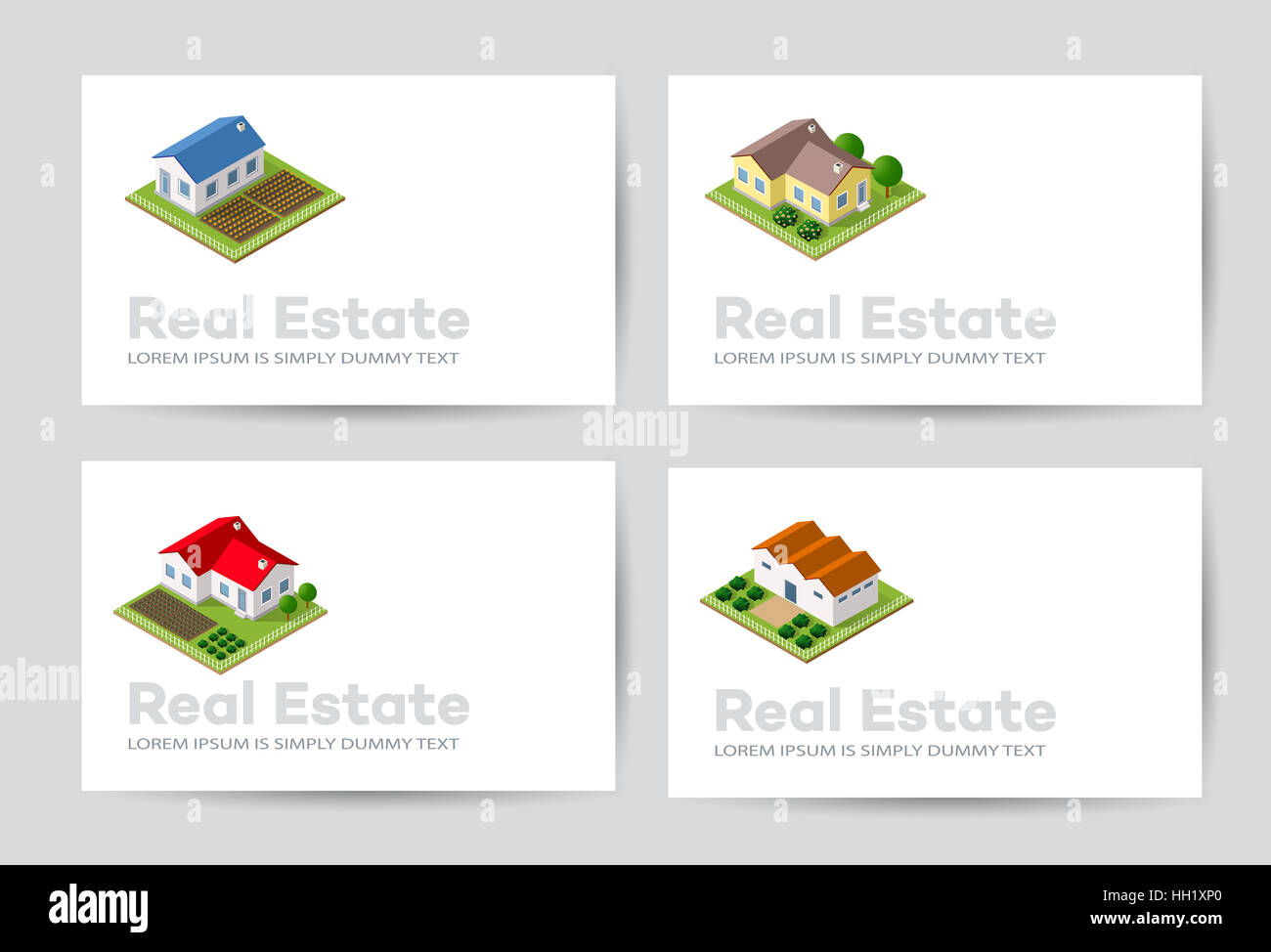 Templates of business cards for real estate agencies city portals stock photo templates of business cards for real estate agencies city portals construction firms and design presentations magicingreecefo Image collections