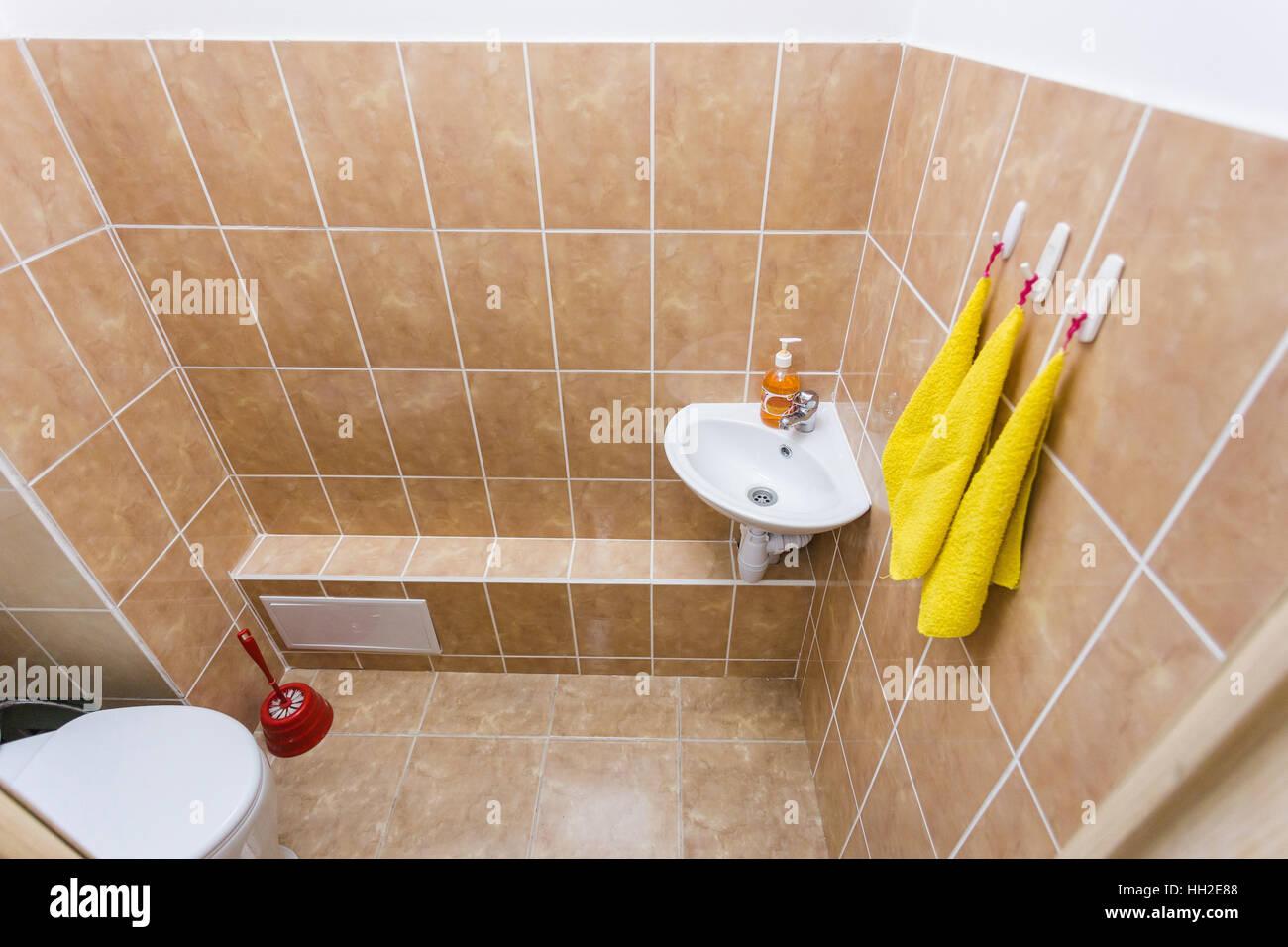 preschool bathroom sink. Clean Children Toilet Washroom With Sink And Water-closet In Kindergarten Preschool Bathroom