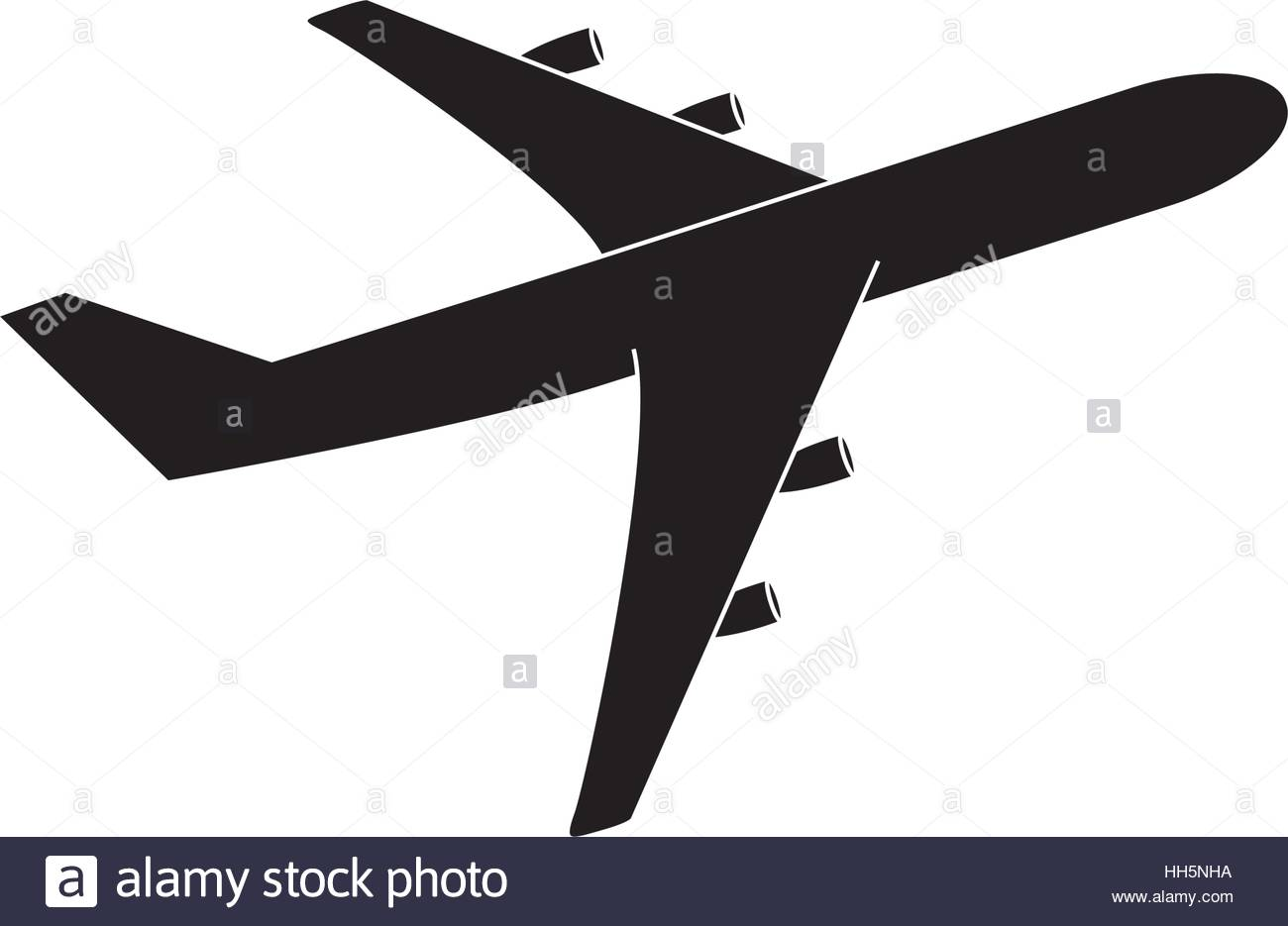 Vector Airplane Symbol Icon Pictogram Vektor Flugzeug