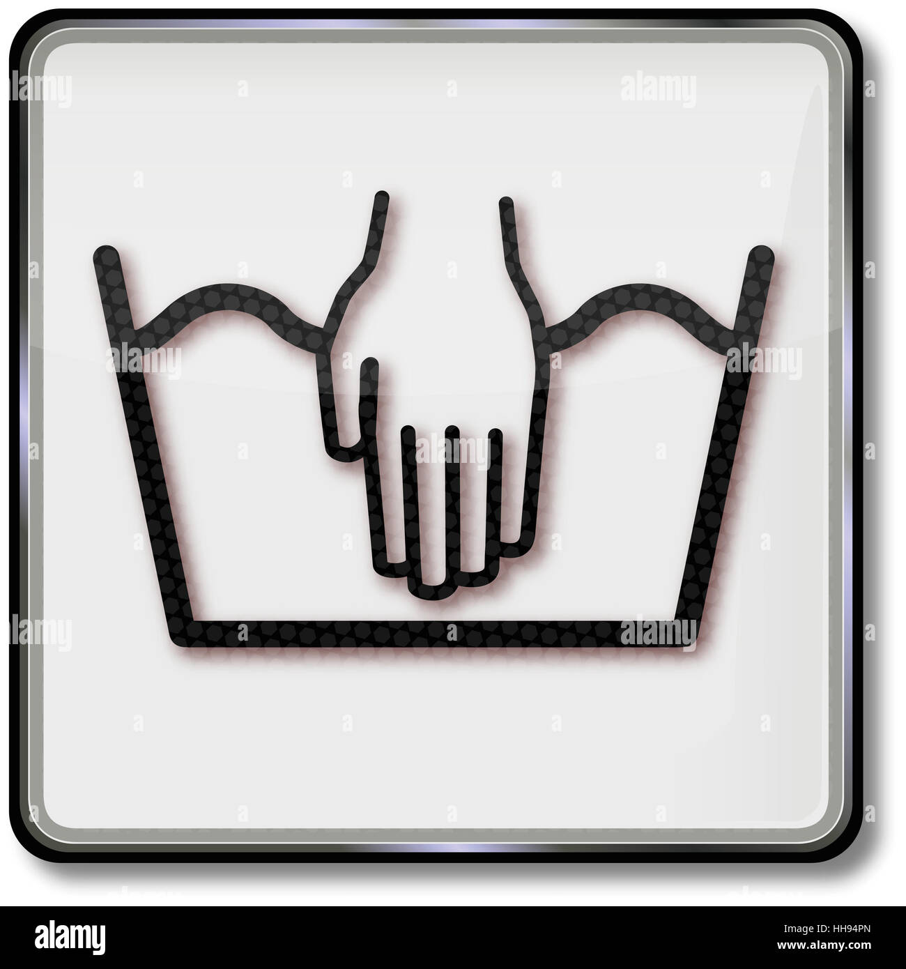 Laundry symbol hand wash stock photo royalty free image 131123069 laundry symbol hand wash buycottarizona Image collections