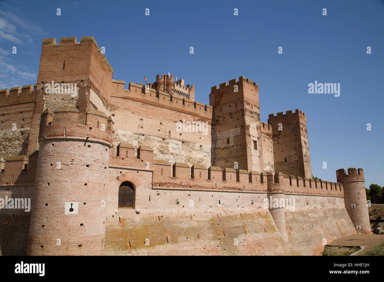 Castle of la mota built 12th century medina del campo valladolid stock photo royalty free - Sofas medina del campo ...