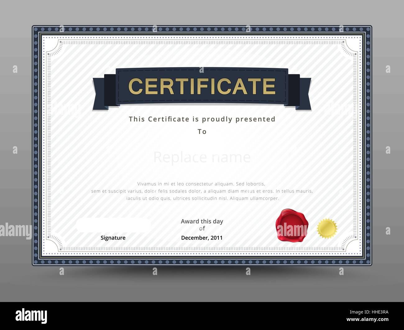 Elegant Certificate Template Business Certificate Formal Theme – Business Certificate Template