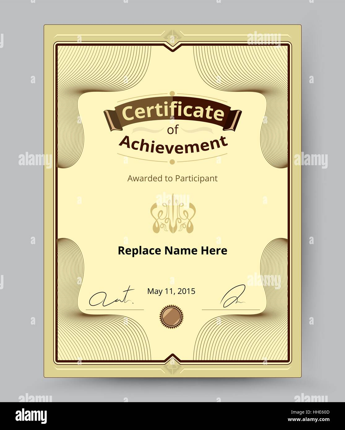 Luxury certificate border certificate template for replace name luxury certificate border certificate template for replace name and etc grand certified and congradtulation template xflitez Images