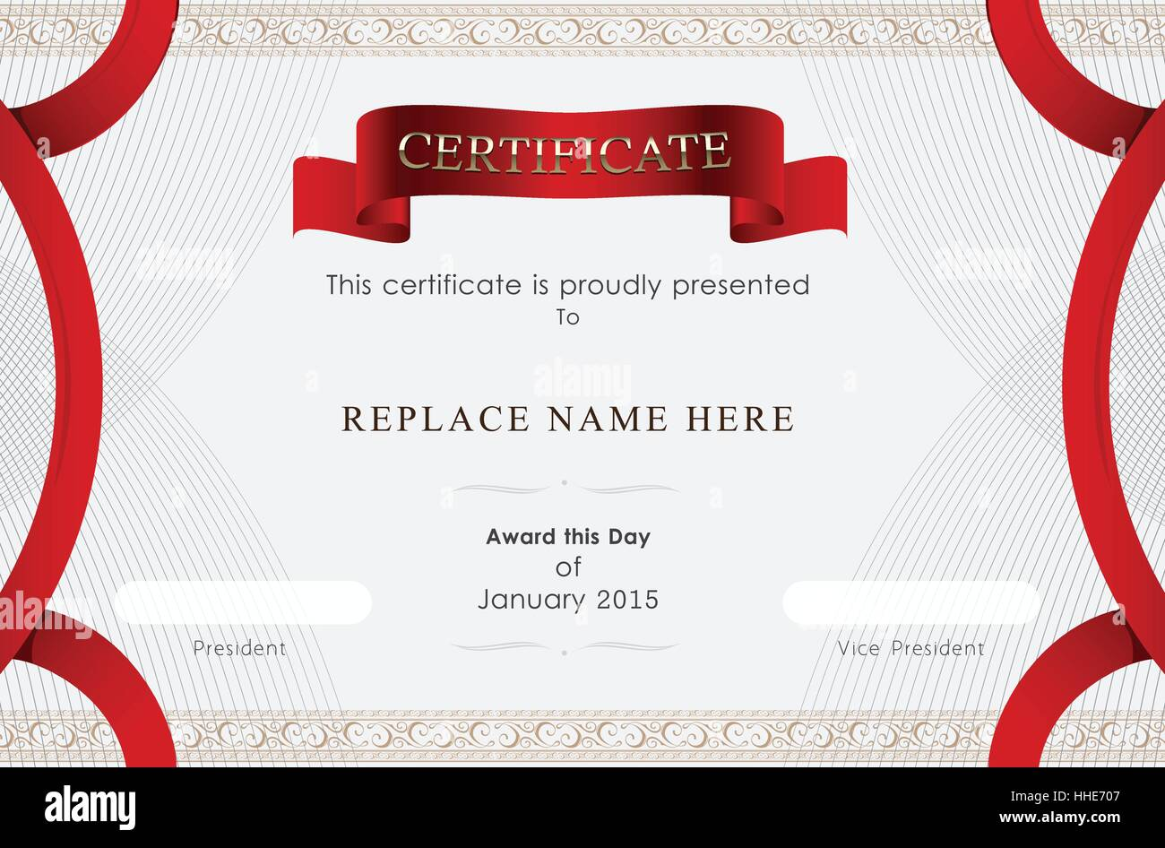 Certificate border certificate template vector illustration certificate border certificate template vector illustration xflitez Gallery