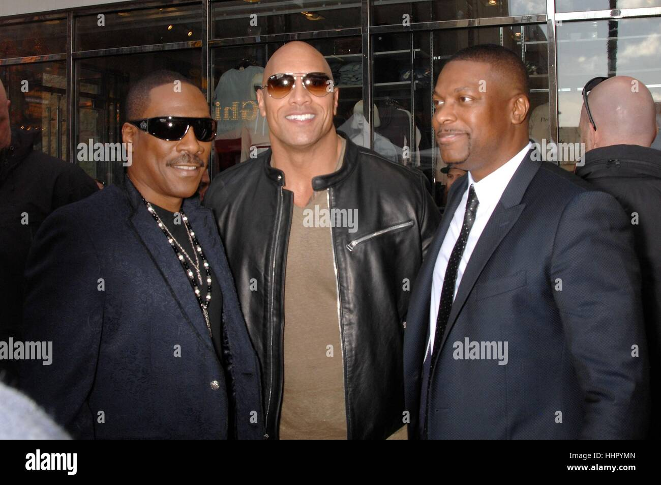 Los Angeles, USA. 19th Jan, 2017. Eddie Murphy, Dwayne ...