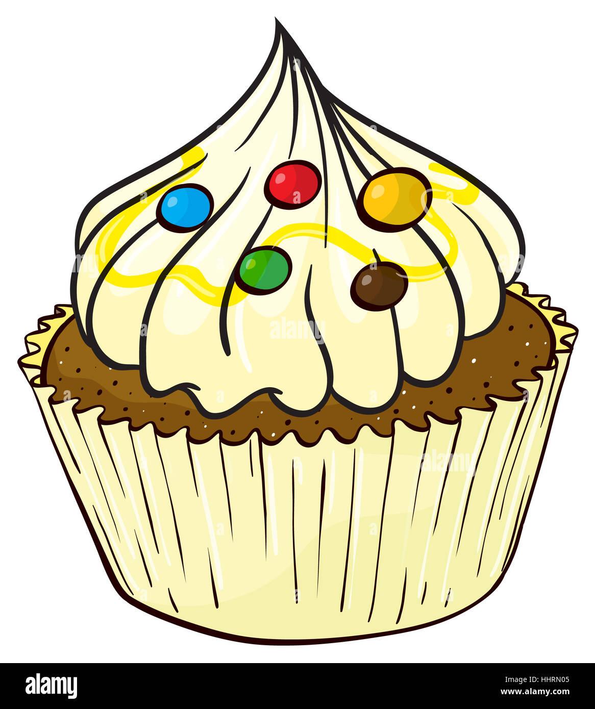 Chocolate Cake Cartoon Images
