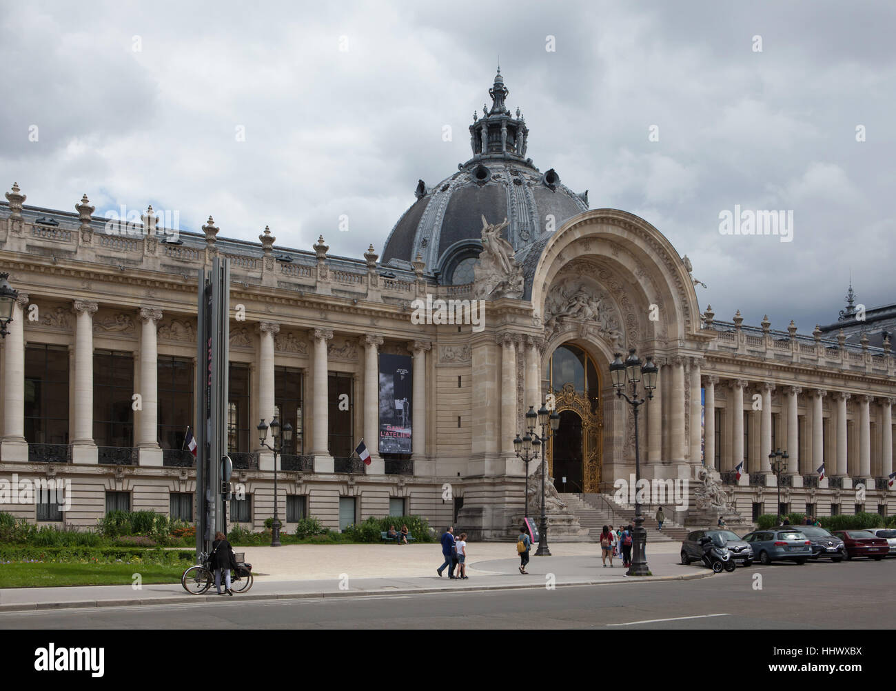 French Architect petit palais designedfrench architect charles girault in stock