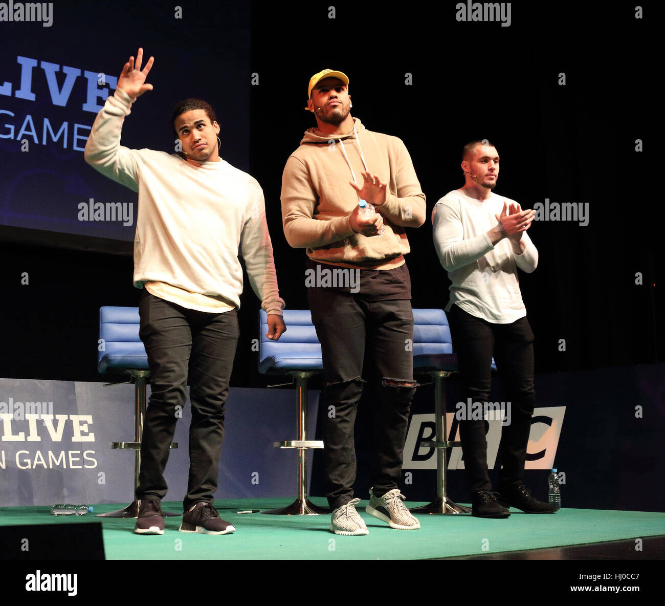 London UK 20th Jan 2017 Eric Kendricks Anthony Barr and