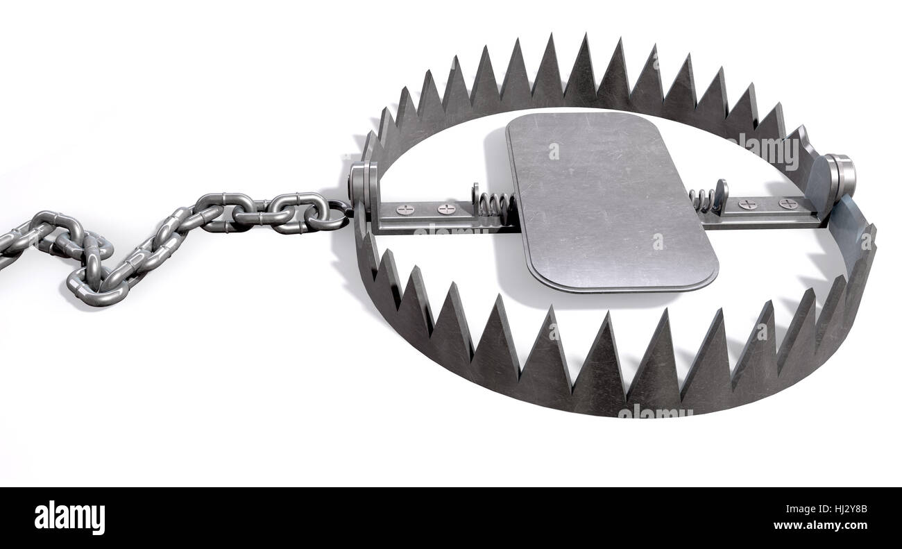 Isolated teeth chain spread screw metal open uncap
