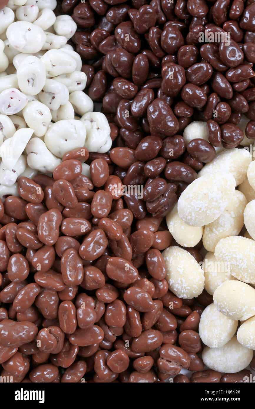 Chocolate Covered Peanuts Raisins Stock Photos & Chocolate Covered ...