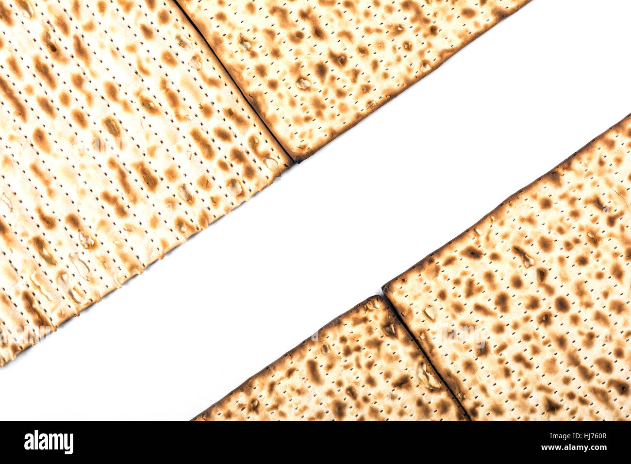 Jewish Matza On Passover Stock Photo, Picture And Royalty Free ...