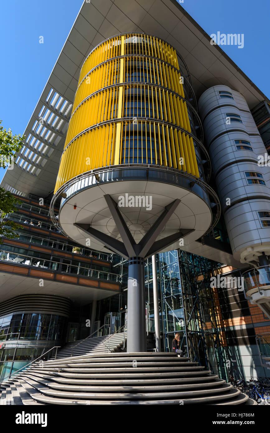 Modern Architecture Germany berlin. germany. modern architecture on linkstraße, potsdamer