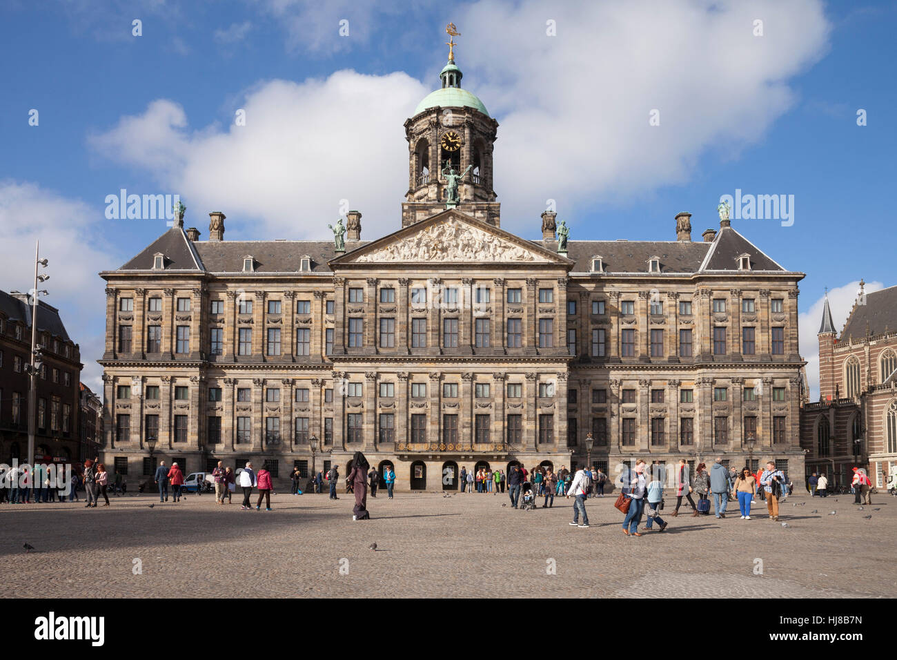 Royal palace paleis amsterdam holland the netherlands stock royal palace paleis amsterdam holland the netherlands publicscrutiny Choice Image