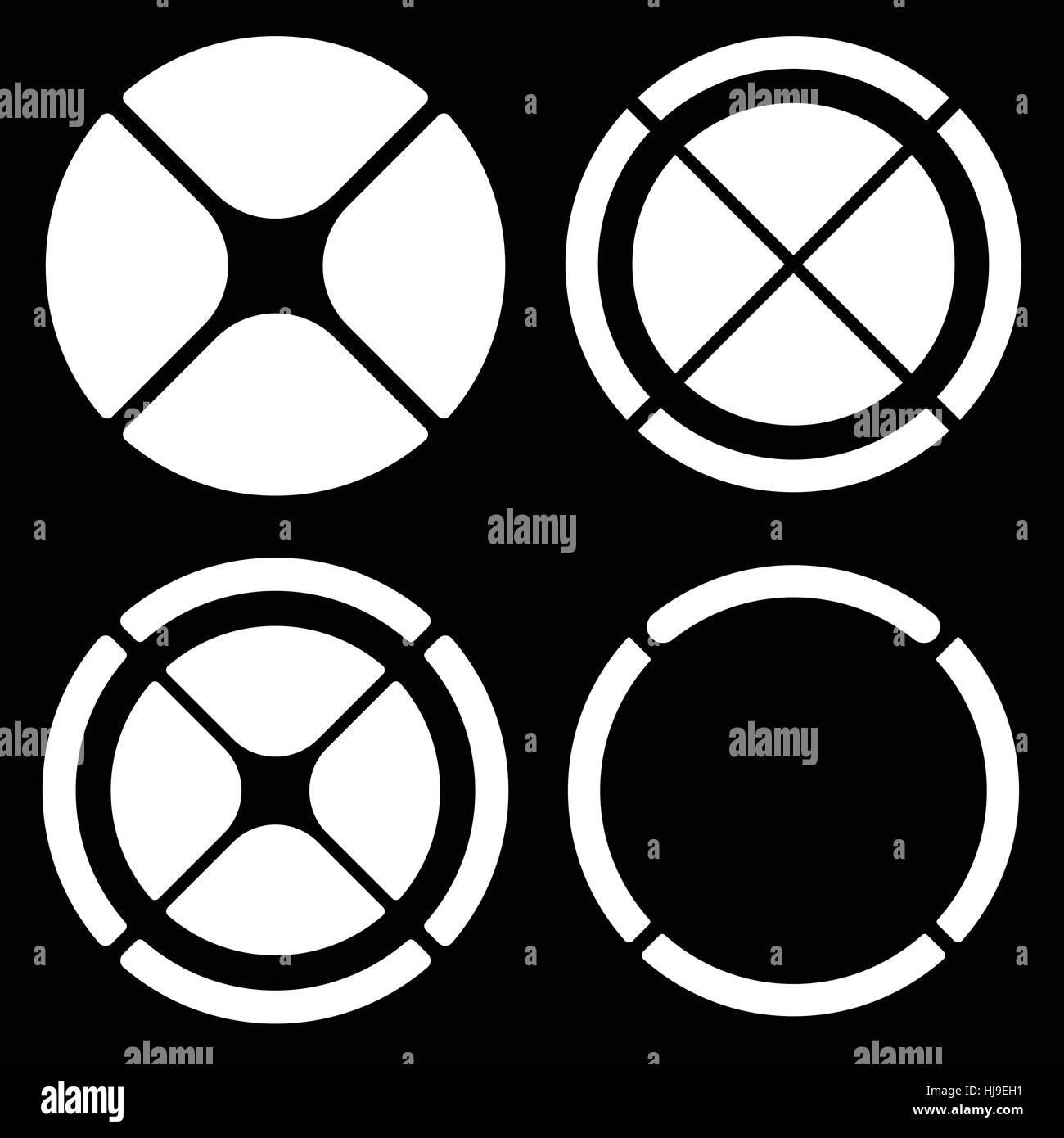 Circle shape target targetmark symbol crosshair cross stock circle shape target targetmark symbol crosshair cross cross hair set segmented line radial minimal icon circular motif design element buycottarizona Image collections
