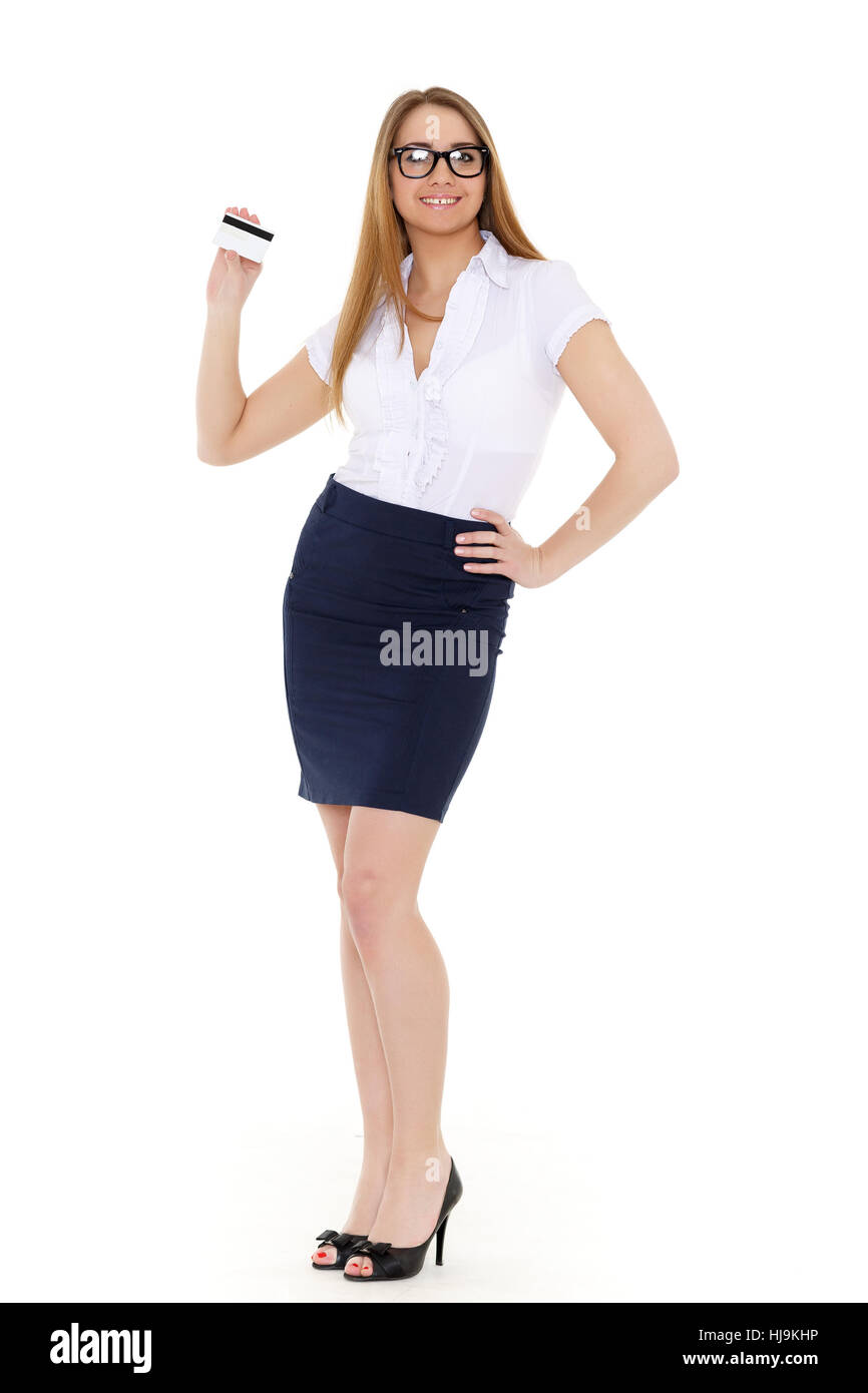 woman, skirt, bank, lending institution, office, laugh, laughs ...