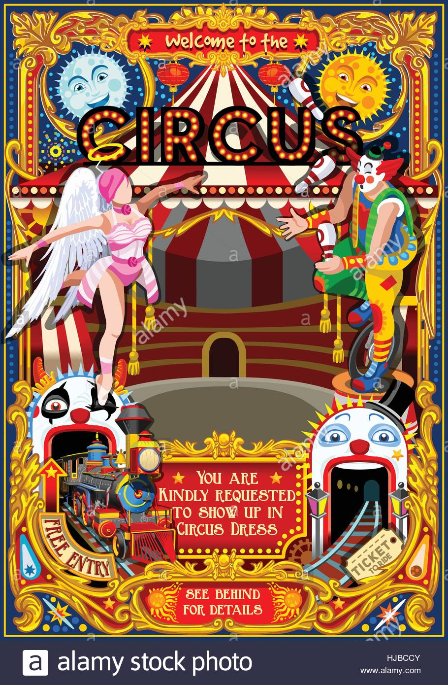 Circus Carnival Tent Marquee Amusement Family Theme Park