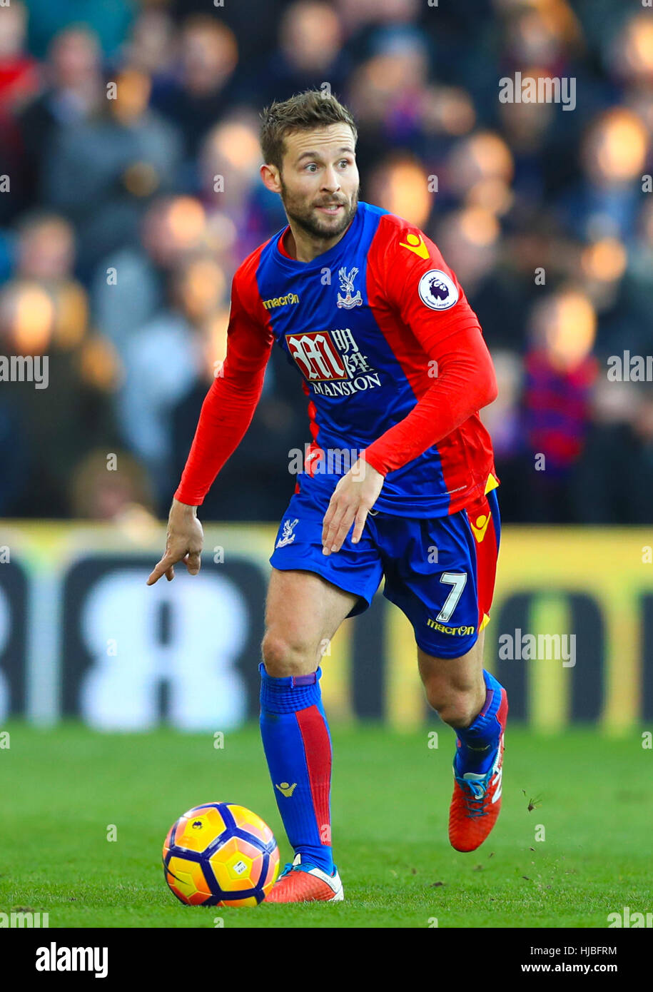 Yohan Cabaye Crystal Palace Stock Royalty Free Image