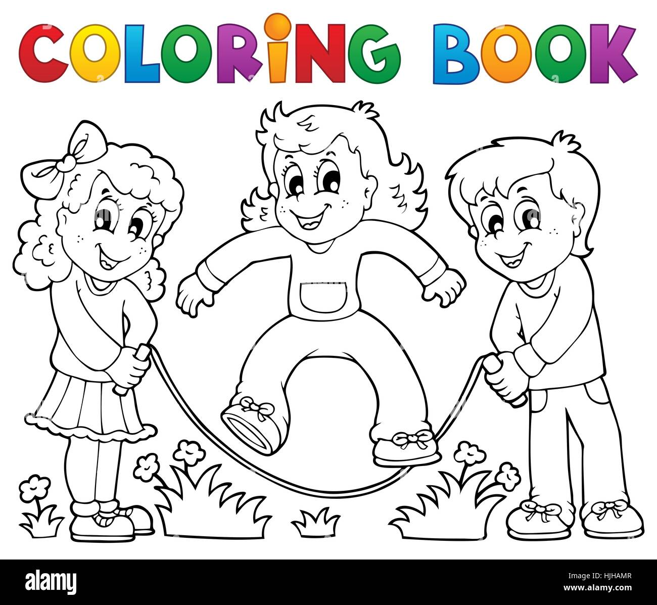 stock photo colour paint painted kid colouring child children kids book humans