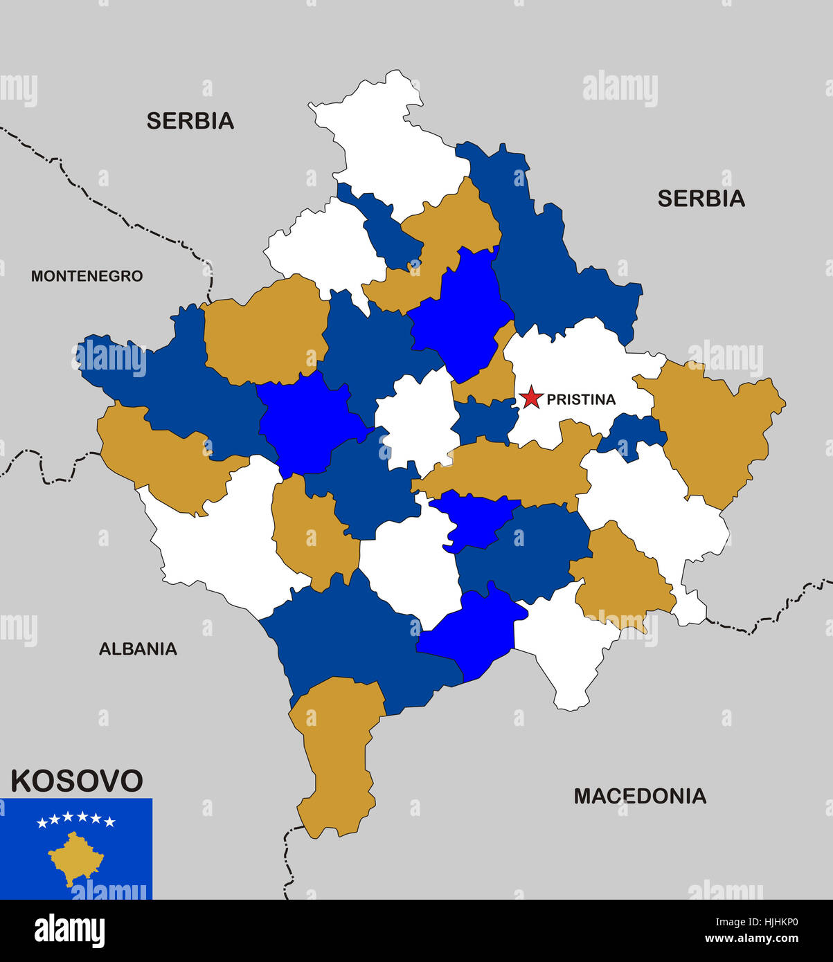 Kosovo Map In World. political  flag country globe planet earth world sign kosovo geography