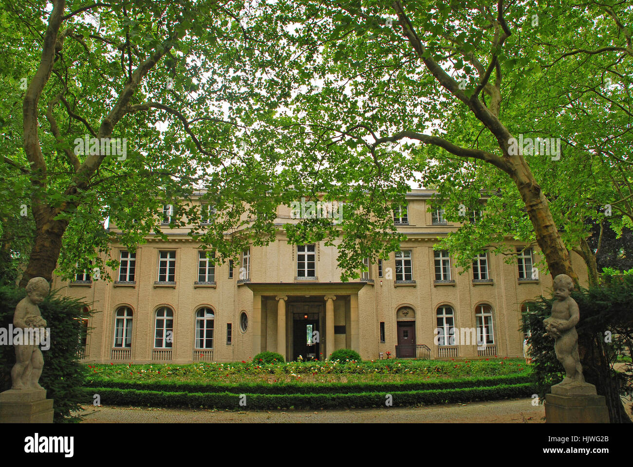 Stock photo villa of the wannsee conference 56 58 am grossen wannsee berlin germany