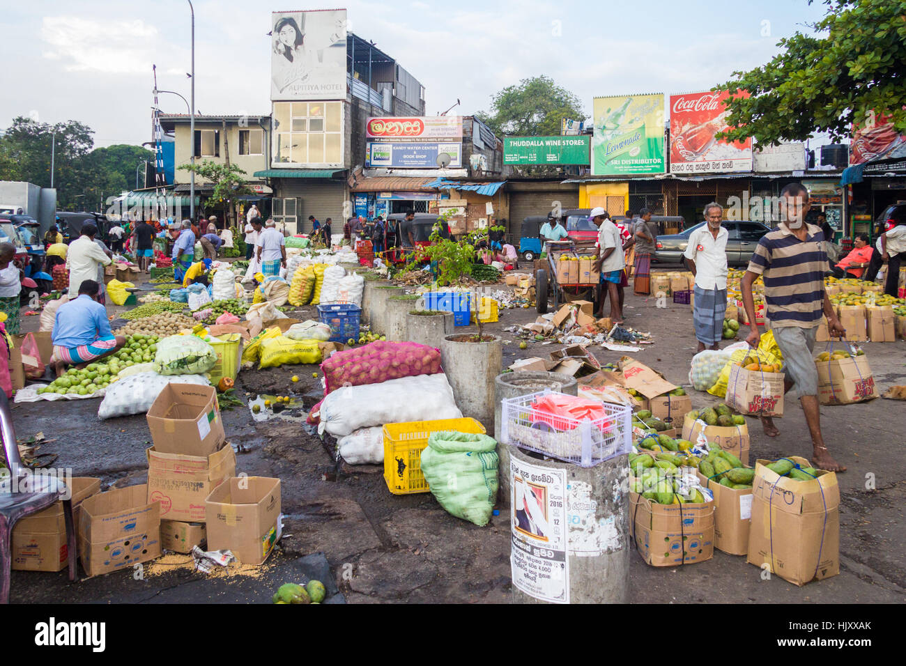 Customers and vendors on manning market pettah district for Pettah market colombo