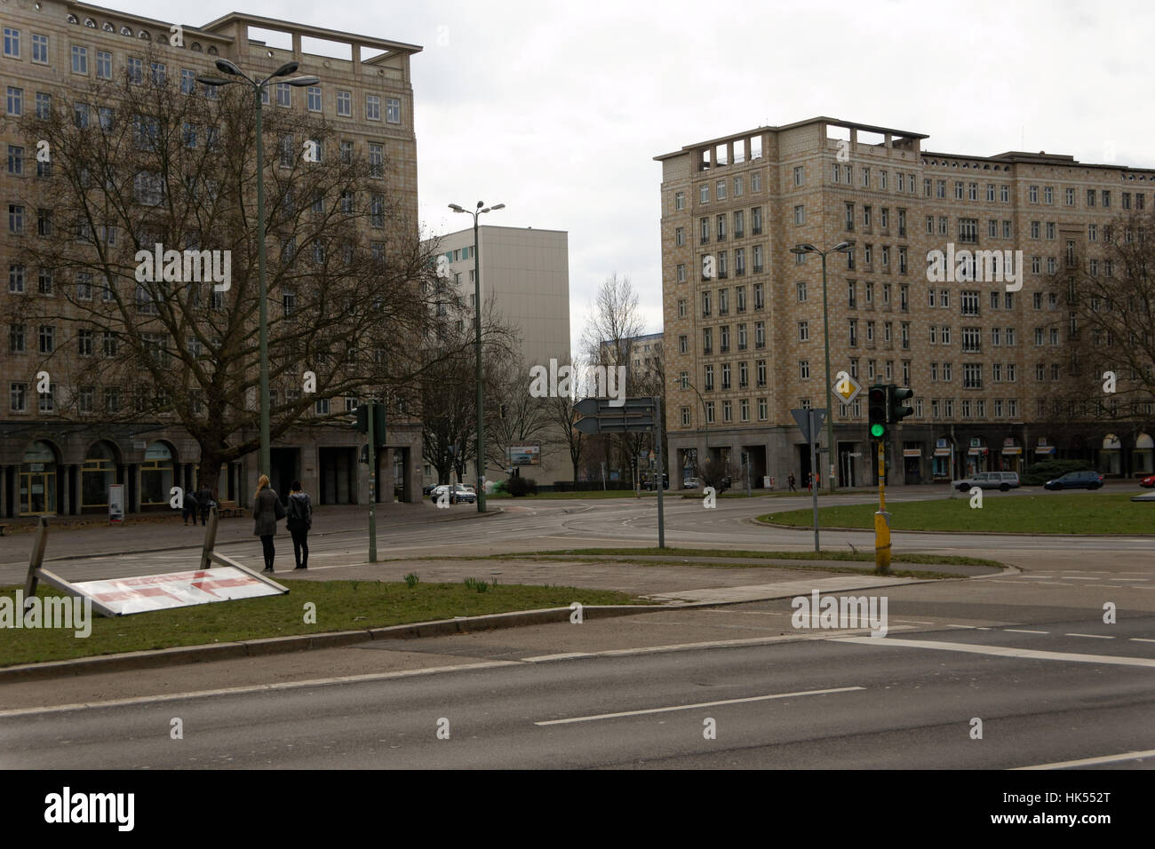Blue house building city town berlin germany german federal republic