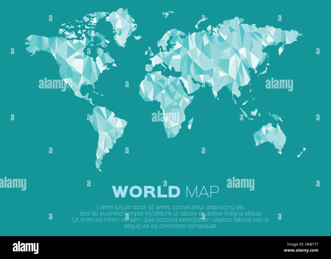 World map background in polygonal style abstract origami color world map background in polygonal style abstract origami color map design gumiabroncs Image collections