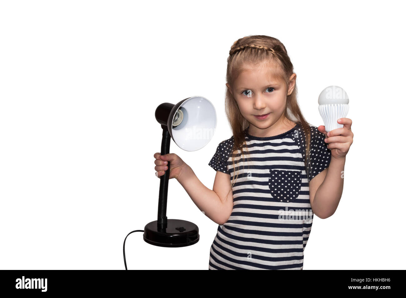 Little girl with lamp and luminaire Stock Photo, Royalty Free ... for Little Girl With Lamp  177nar