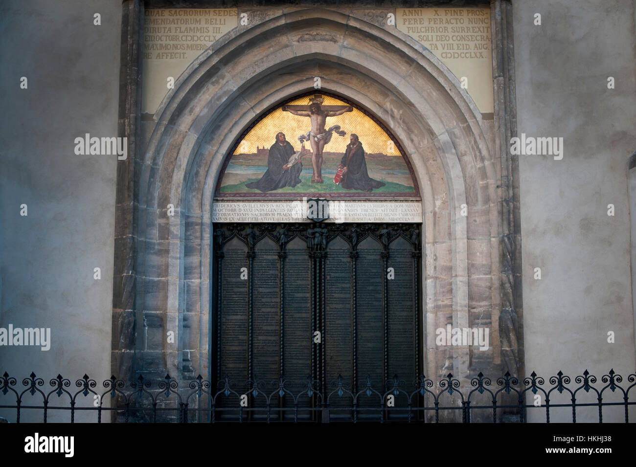 The Quot Theses Doors Quot Commemorating Luthers 95 Theses At