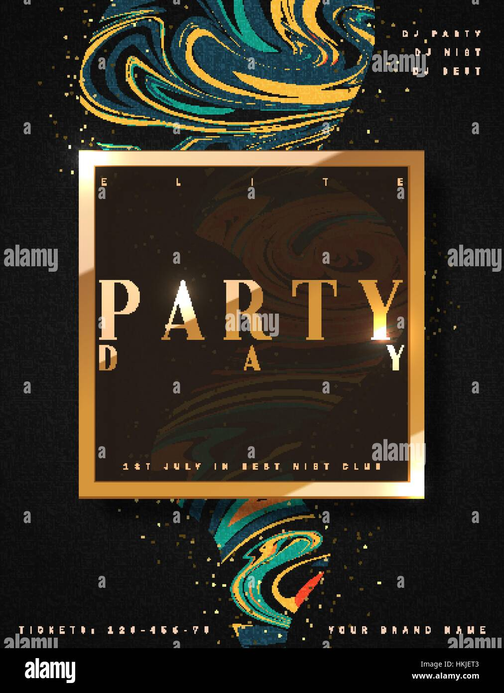 Luxury Party Art
