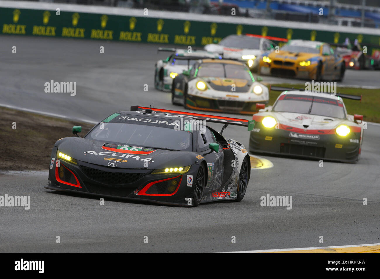 The michael shank racing acura nsx