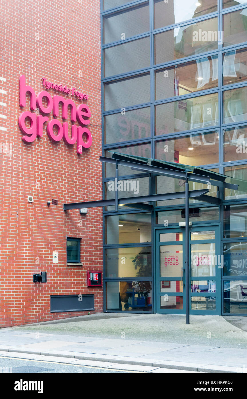 Home Group Tyneside Foyer : The tyneside foyer provides support accommodation for