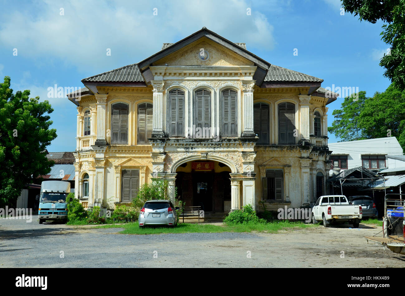 Old classic house style sino portuguese architecture in for Classic architecture homes