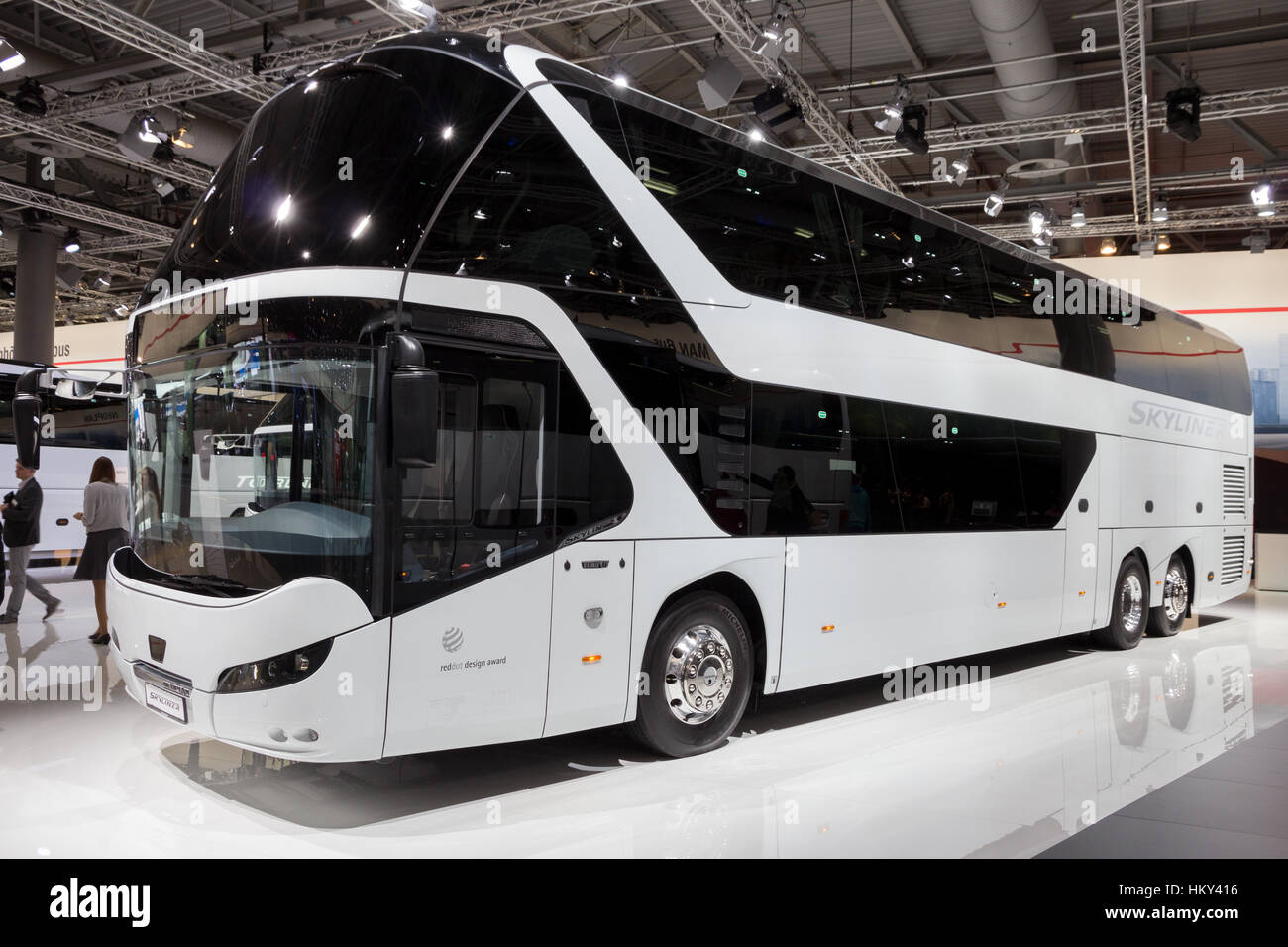 Toyota Of Pullman >> HANNOVER, GERMANY - SEP 21, 2016: Neoplan Skyliner double decker Stock Photo, Royalty Free Image ...
