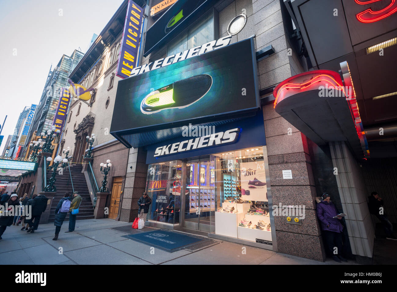 nike store times square
