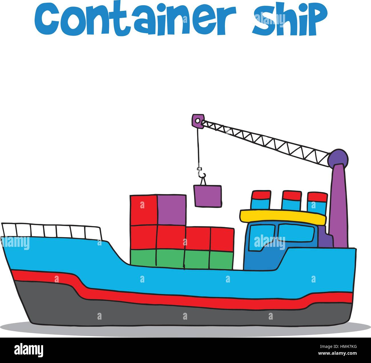 Cargo Ship Cartoon Www Pixshark Com Images Galleries