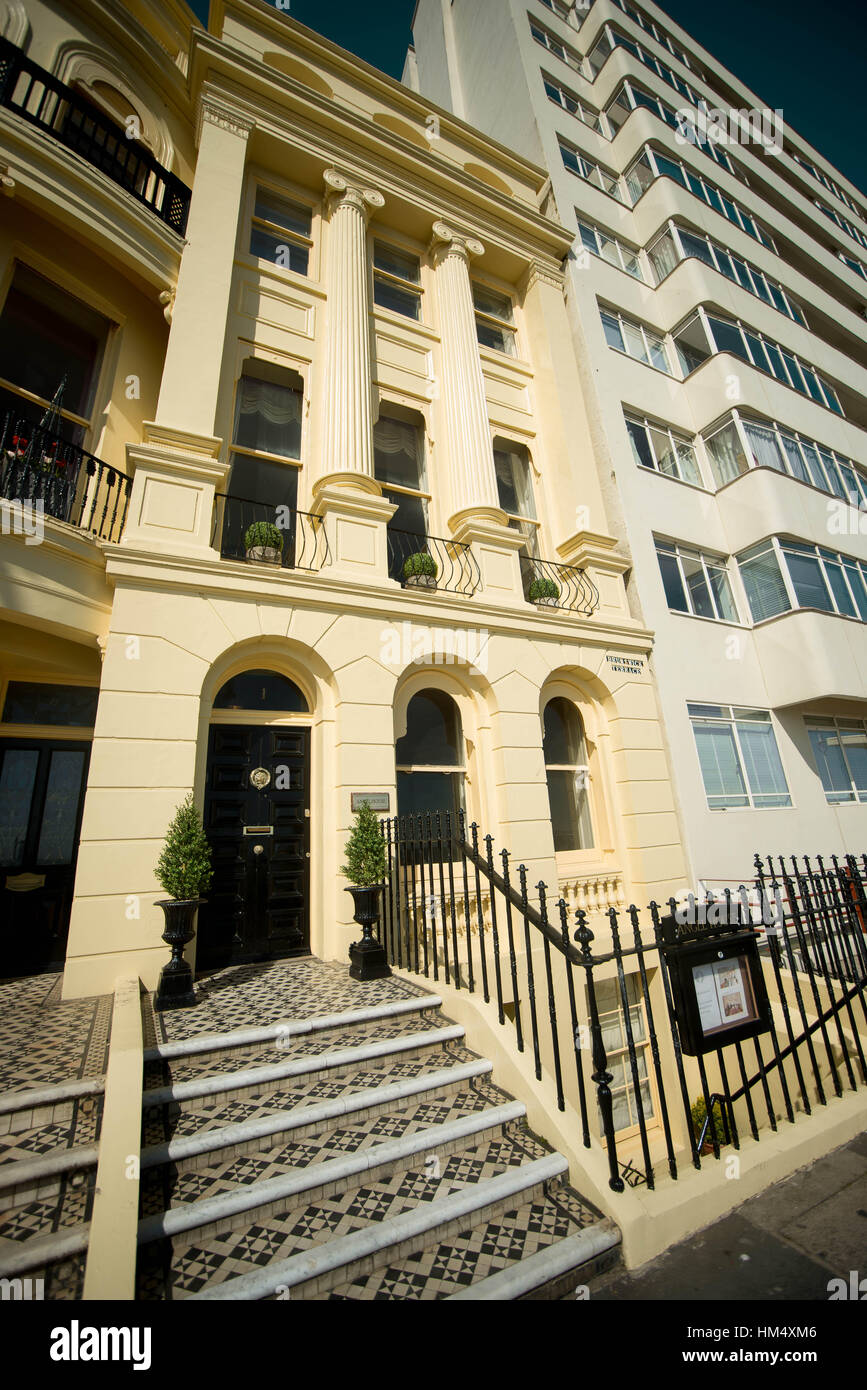 General View Of Small Intimate Wedding Venue Angel House In Hove Sussex UK