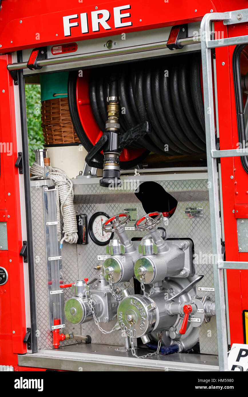 Vintage fire engine parts Stock Photo, Royalty Free Image ...