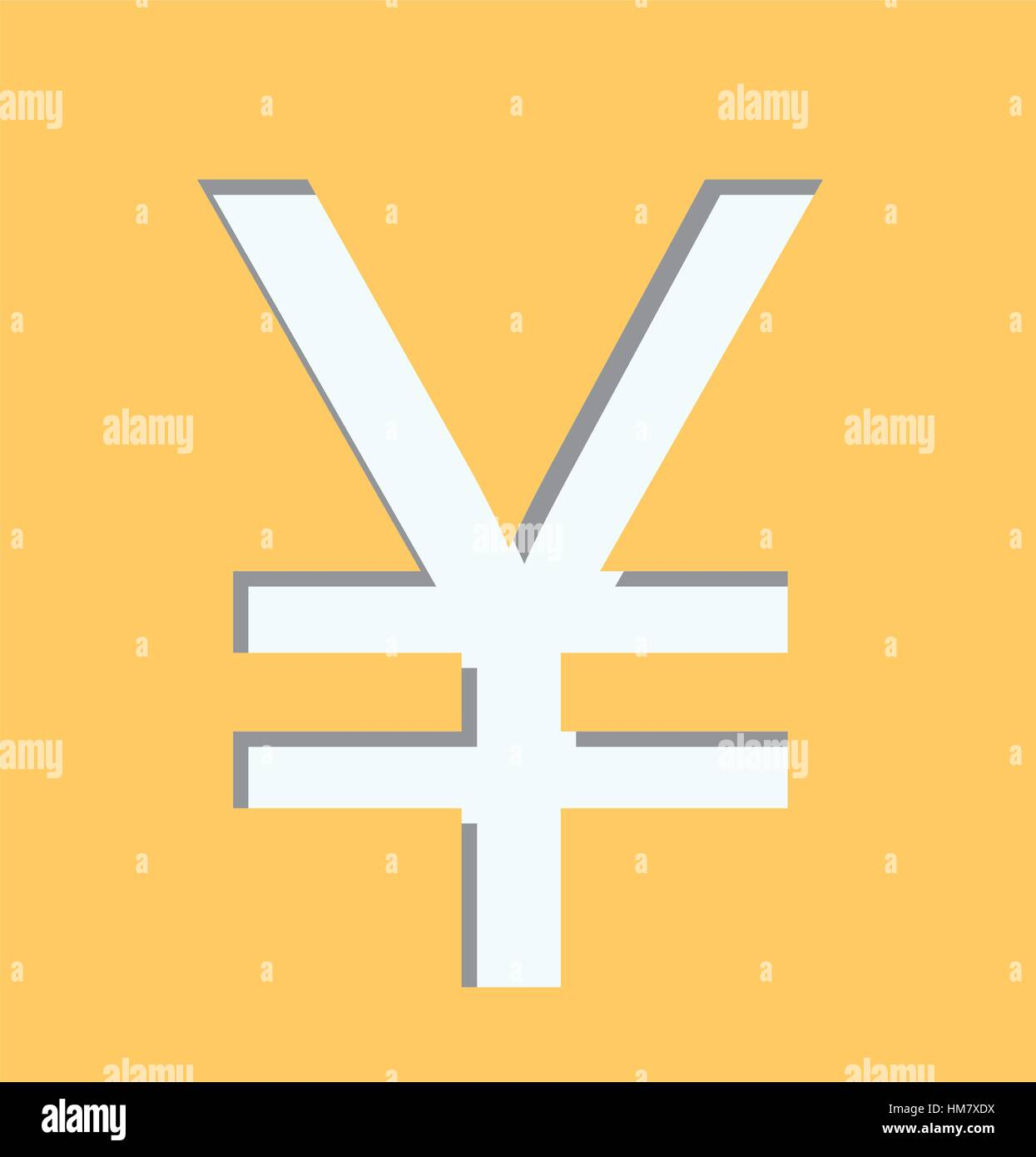 Cny currency symbol images symbol and sign ideas yellow square shape with currency symbol of china vector yellow square shape with currency symbol of biocorpaavc Image collections