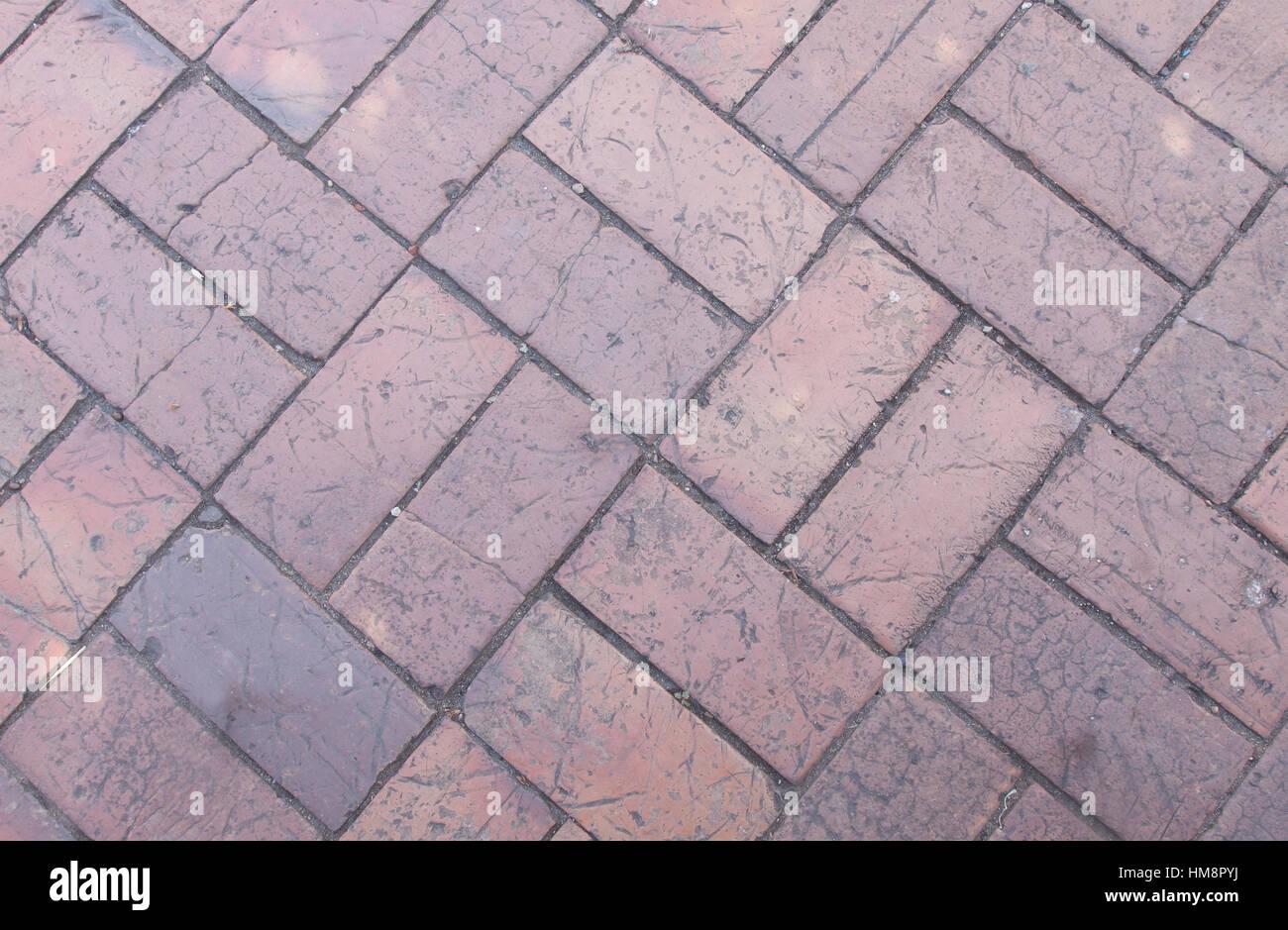 brick paving stock photos & brick paving stock images - alamy
