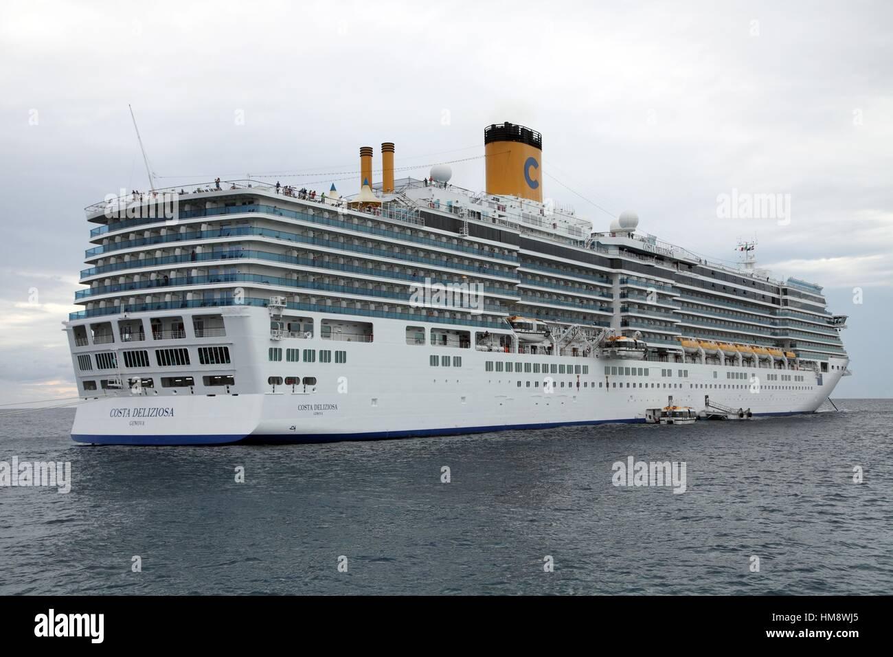 Costa Cruises Cruise Anchored Off Catalina Island Dominican - Catalina cruises