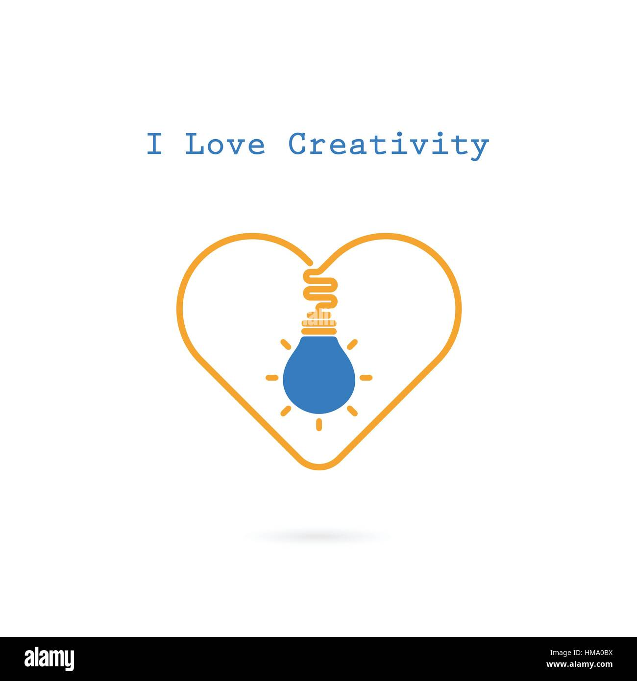 Design banner template - Creative Light Bulb And Heart Sign Vector Design Banner Template Light Bulb Icon With Heart