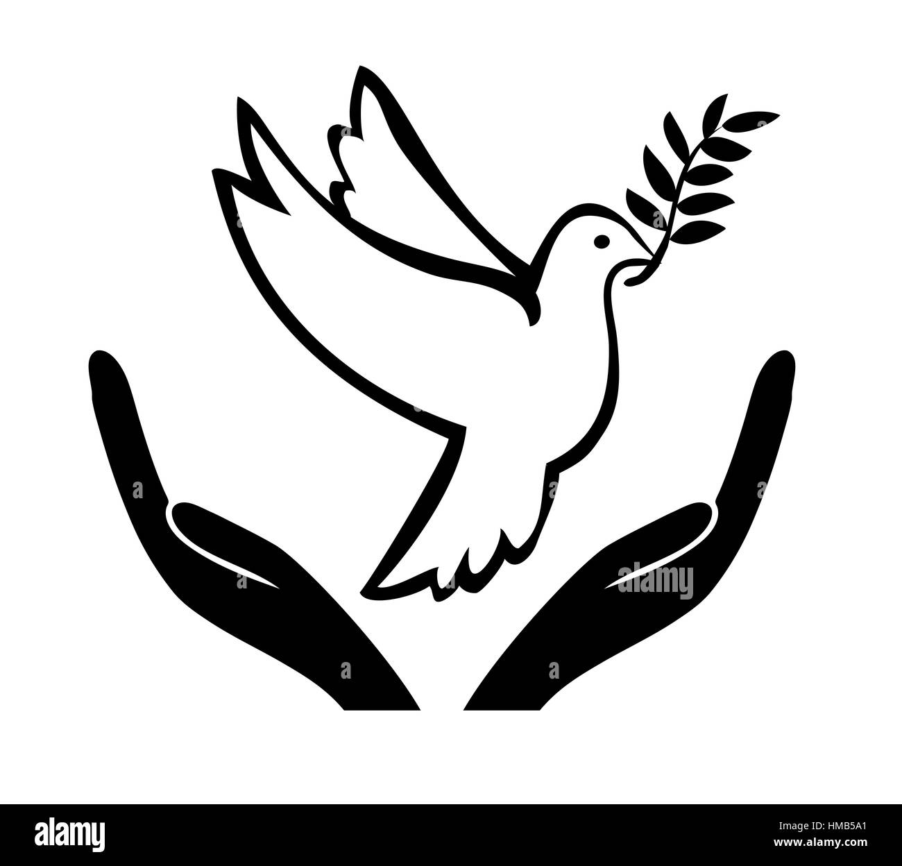 Symbol and appeal to achieve a peaceful solution stock photo symbol and appeal to achieve a peaceful solution buycottarizona Choice Image
