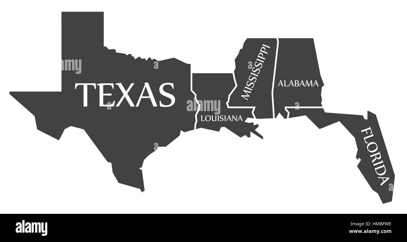 Florida Alabama Map.Texas To Alabama Map Business Ideas 2013