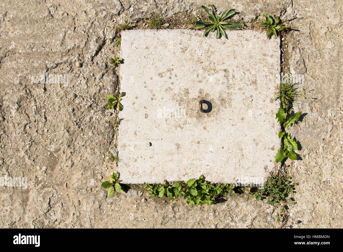 Background image mdn - Stock Photo Square Hatch On A Concrete Background