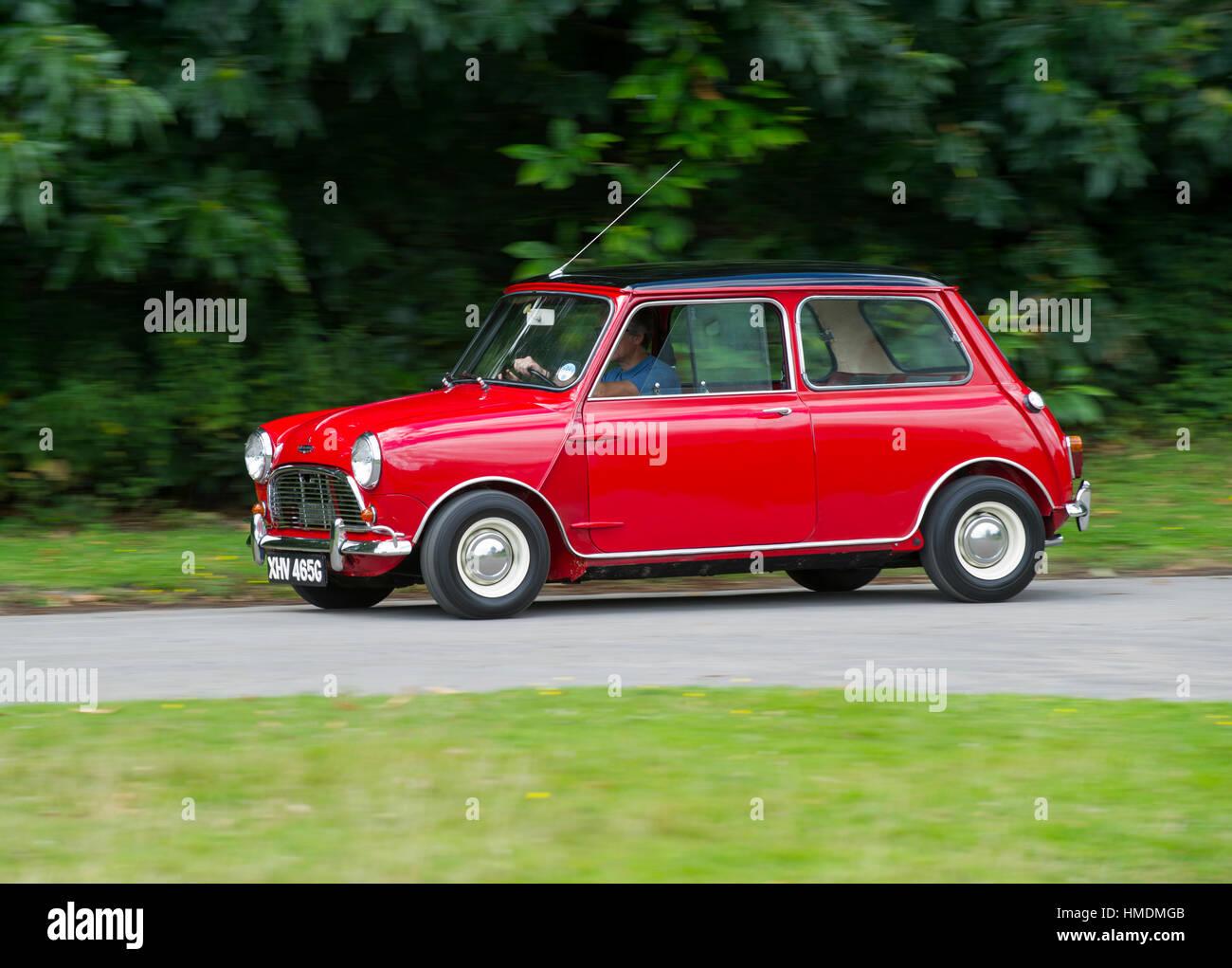 Mini 1968 mini cooper : 1968 Mini Cooper S classic compact British sports car Stock Photo ...